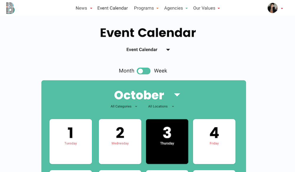belong-event-calendar
