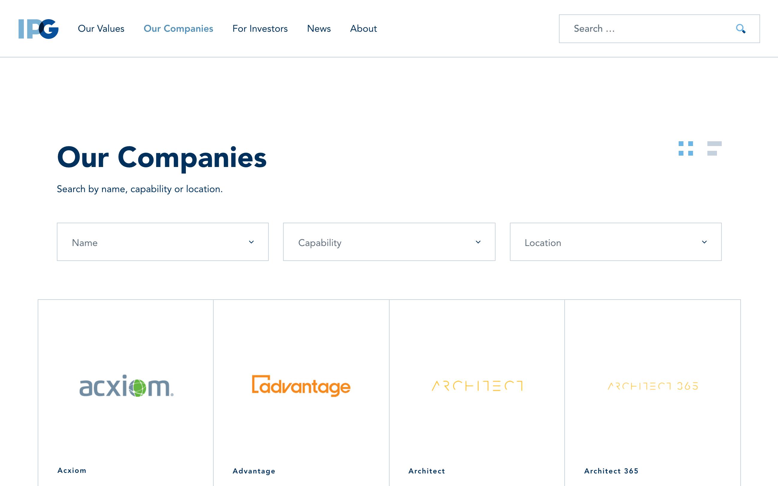 Interpublic Group Companies