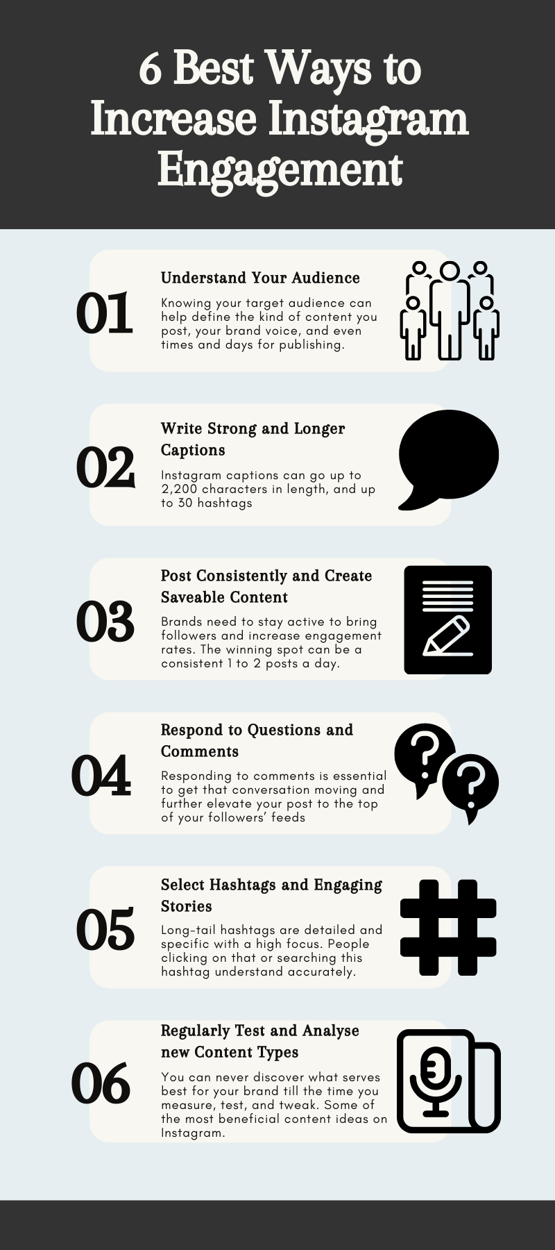 instagram engagement infographic