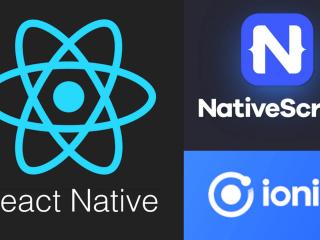 NativeScript vs React Native vs. Ionic: Best Cross-Platform Framework