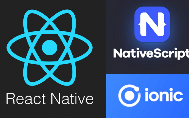 NativeScript vs React Native vs. Ionic